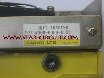 FANUC UNIT ADAPTER A06B-6059-K031