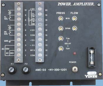 YUKEN POWER AMPLIFIER AME-D2-H1-200-1201